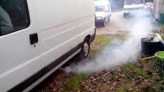 jumper II   2L hdi 84cv  qui fume à froid