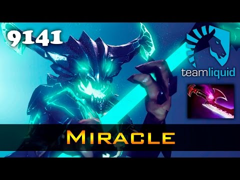 Miracle OD with Silver Edge - 9141 MMR Liquid Dota 2