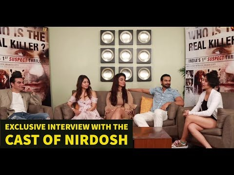 EXCLUSIVE INTERVIEW with the cast of Nirdosh | Arbaaz, Ashmit, Mahek & Manjari