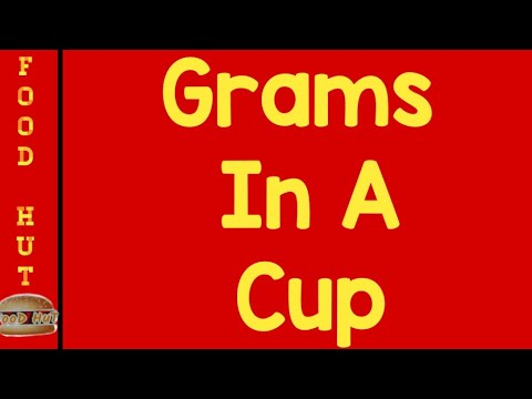 How many Grams in a cup? Measure Ingredient without Scale|| Baking Hacks for Beginners by FooD HuT