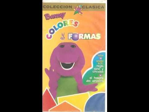 "Barney: Colores y Formas | ""Red, Blue and Circles, Too!"" & ""The Treasure of Rainbow Beard"" (Spanish)"