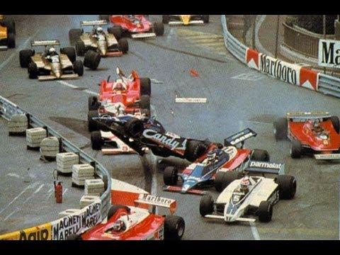 F1 - 1980 Monaco GP - Derek Daly crash