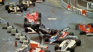 F1 - 1980 Monaco GP - Derek Daly horror crash
