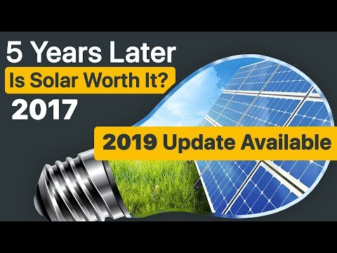 Is Solar Worth It? 5 Years after installing Solar Panels, I