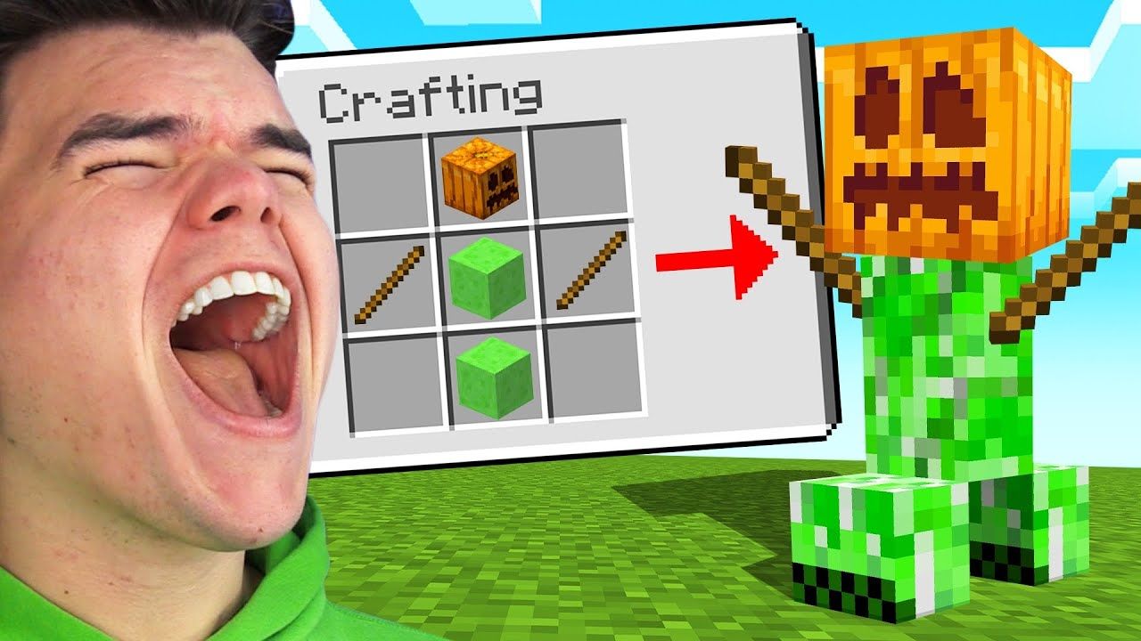 MINECRAFT You LAUGH You DIE! (Challenge)