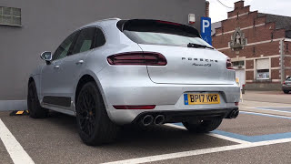 Porsche Macan GTS (Start-Up, Revs!!!) Loud!!!