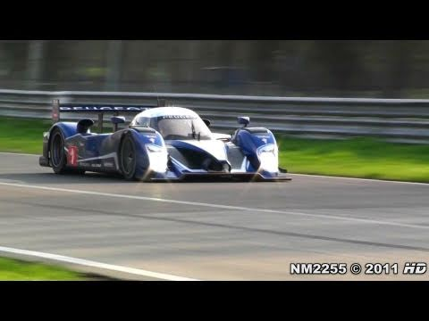Peugeot 908 HDI FAP LMP1 Test on the Track