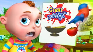 Painting Episode | TooToo Boy Series | Cartoon Animation For Children | Videogyan Kids Shows