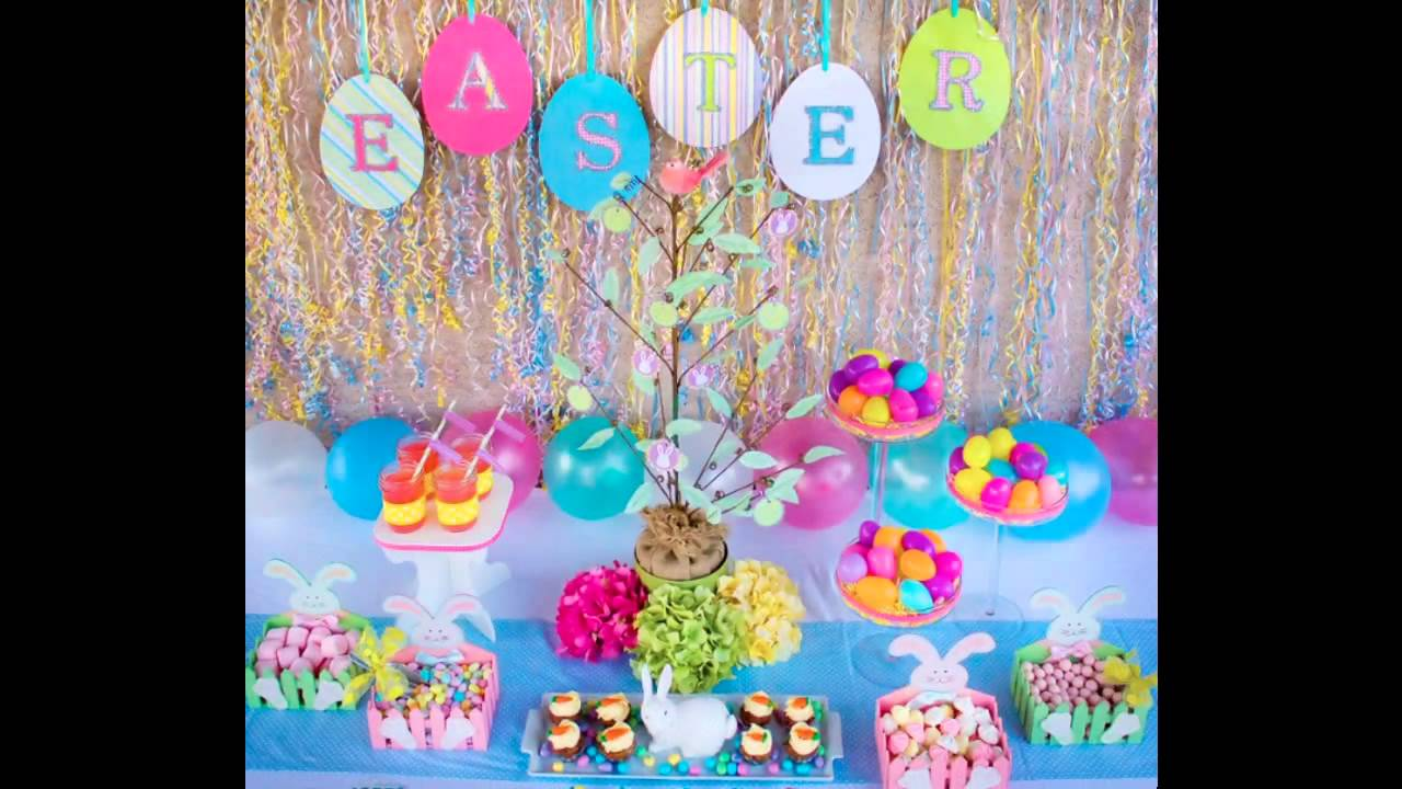 Easter Birthday Party Decorating Ideas
