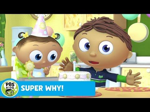 SUPER WHY!   Whyatt Makes a Birthday Cake   PBS KIDS