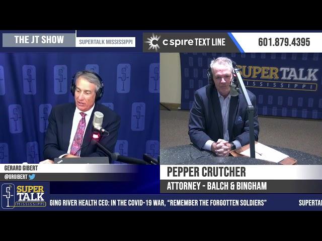 Pepper Crutcher on The JT Show