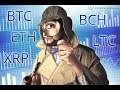 Price Update on BTC, BTCH, ETH, LTC and XRP