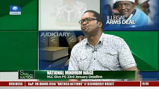 National Minimum Wage: NLC Give FG 23rd January Deadline |State Of The Nation|