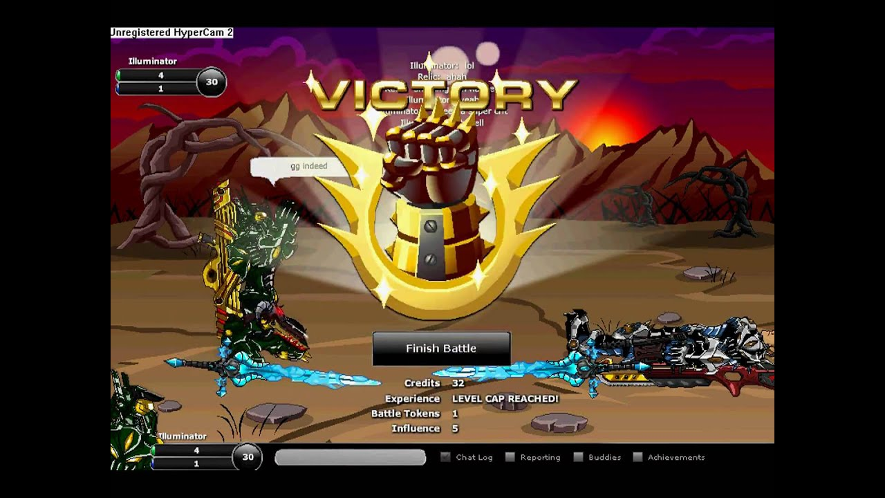 Epic Duel - Level 30 Mercenary Warlord
