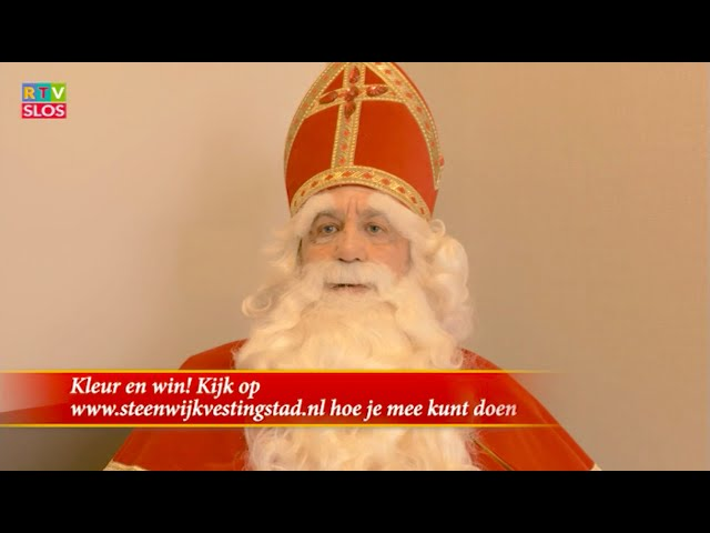 Sinterklaas Verhaal 2020   PROMO Sinterklaas met kleurplaat