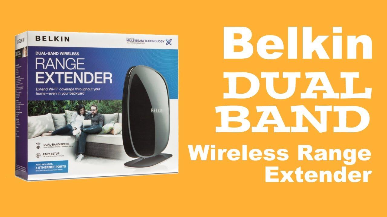 belkin dual band wireless range extender