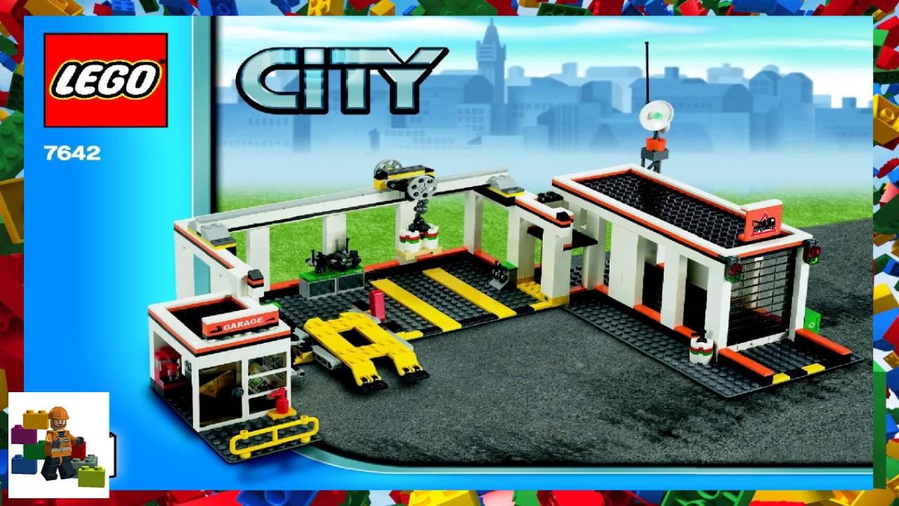 Lego Instructions City Traffic 7642 Garage Book 3 Youtube Legoinstructions