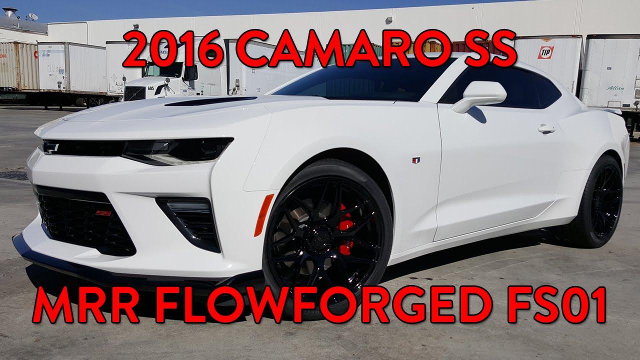 Overview 2016 Camaro Ss Mrr Flowforged Fs01 Gloss Black
