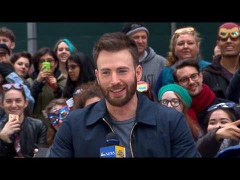 'Captain America Civil War' | Chris Evans Visits 'GMA'