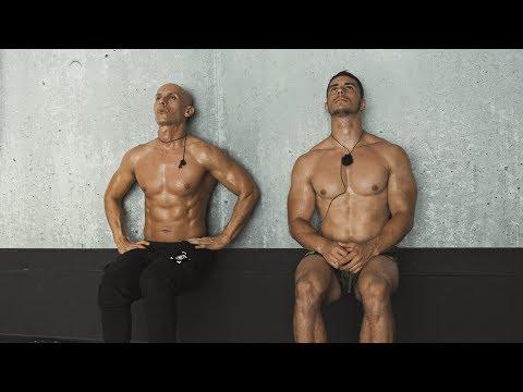 6 exercises for BIGGER legs | full LEG WORKOUT by Frank Medrano & Dejan Stipke