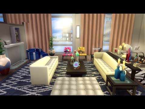 The Sims 4 Speed Build | GOSSIP GIRL PENTHOUSE | Van Der Woodsen