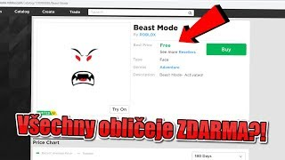 ✅ All faces in Roblox FREE?! /Tutorial/ROBLOX/jurasek05