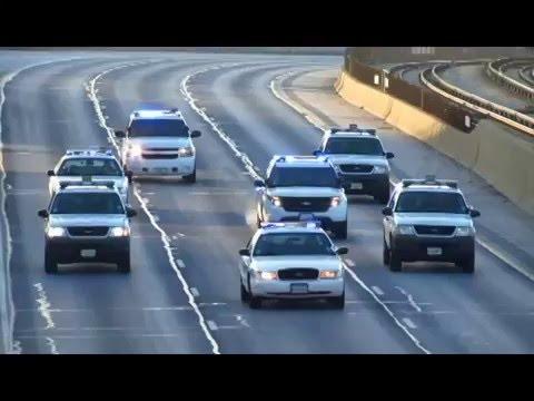 Obama ,,The kings motorcade,,