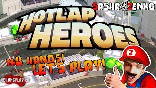 Hotlap Heroes Gameplay (Chin & Mouse Only)