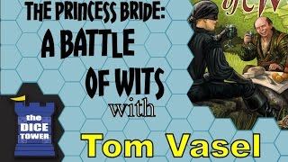 The Princess Bride: A Battle of Wits Review - with Tom Vasel