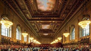 Центральная библиотека в городе Нью Йорк 24.03.2015