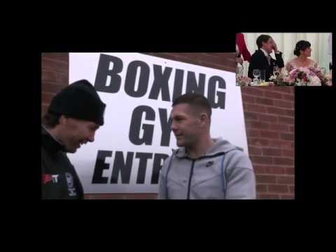 Best man speech - Anthony joshua- kell brook - George Groves -sky sports ringside  . . . .