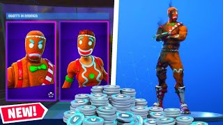 Live Fortnite!! Finally the skin of the Pan di Zenzero!! Shoppiamo the starter pack gives 30,00 euros!!