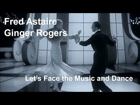 Fred Astaire & Ginger Rogers - Let's Face the Music and Dance (Follow the Fleet 1936) [Restored]