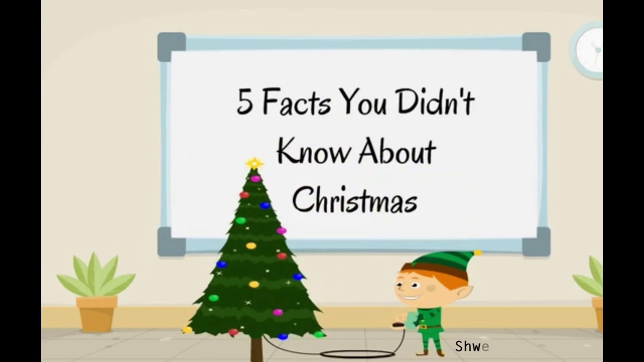 5 interesting Christmas Facts/25th December - YouTube