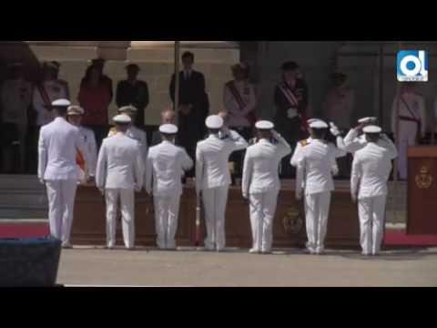 San Fernando: Felipe VI preside la entrega de despachos a 154 nuevos sargentos