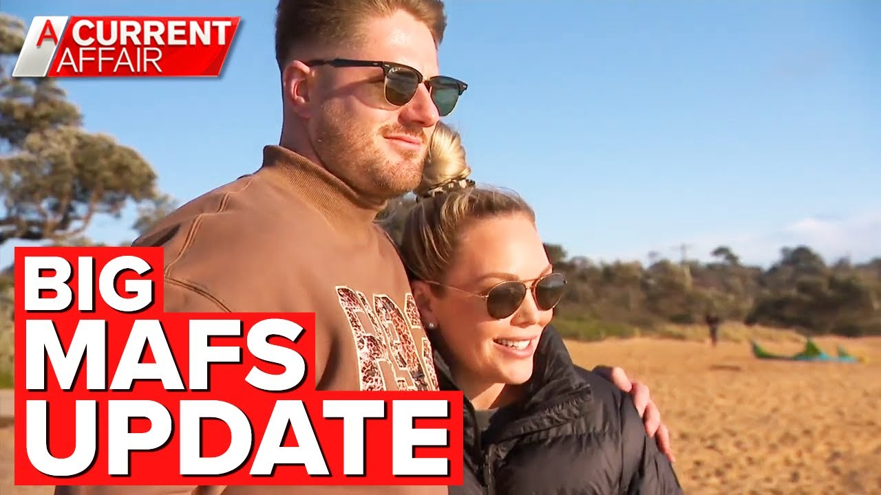 Controversial MAFS couple reveal big news | A Current Affair