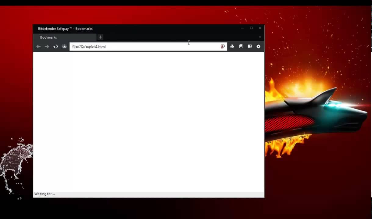 Bitdefender 2014 SafePay exploit Part 2 - YouTube