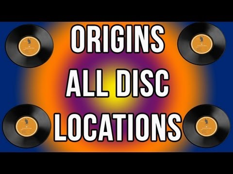 Origins - All Disc Locations (Red,Blue,Yellow,White And Purple) Black Ops 2 Zombies