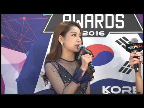 Chi Pu - WebTVAsia Awards 2016 KOREA