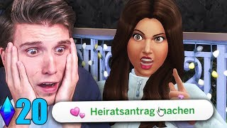 Dieser Heiratsantrag war ein FEHLER ☆ Sims 4