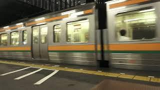 東海道本線211系+313系普通列車浜松行き藤枝駅発車シーン2020.10.10.