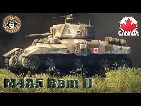 War Thunder: M4A5 Ram II, American / Canadian Tier-2 Premium Medium Tank