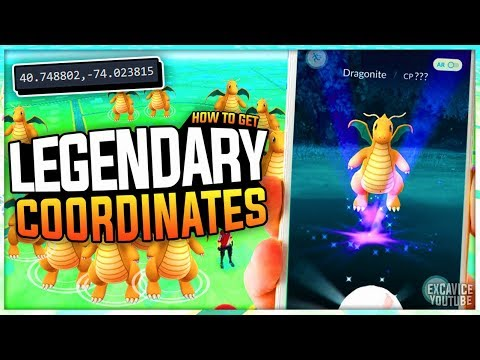 Legendary! Pokemon Go Hack Coordinates: Find Pokemon Locations | 100IV, High CP Coords (2020)
