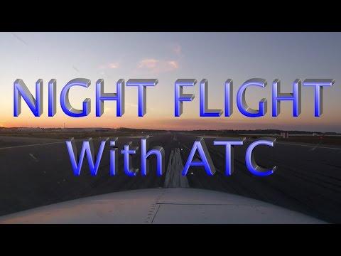"""Beechcraft Baron B55 Flying VLOG """"Intro"""" - With ATC, Night IFR Flight"""