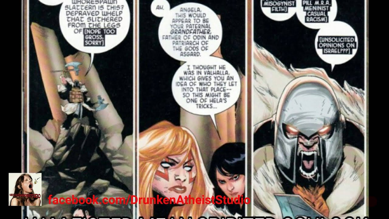 angela queen of hel cancelled sjws at marvel comics