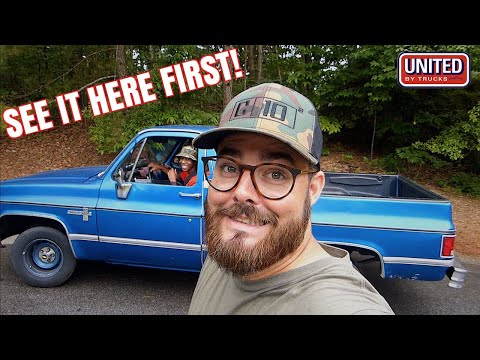 RIPPIN' IN YOUNG CHEVY TRUCK'S SQUAREBODY C10!