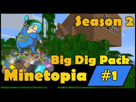 Minecraft Big Dig - Glass Head People - S2E1