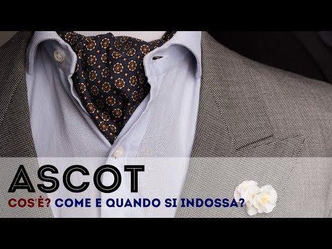 Ascot o Chachecol - Cos'è? Come e quando si indossa?