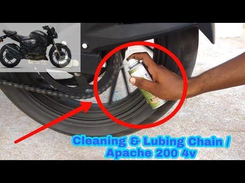 Bike Chain Cleaning Apche 2.0 4V / Bike chain Lupe