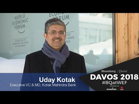 WEF 2018: In Conversation With Uday Kotak